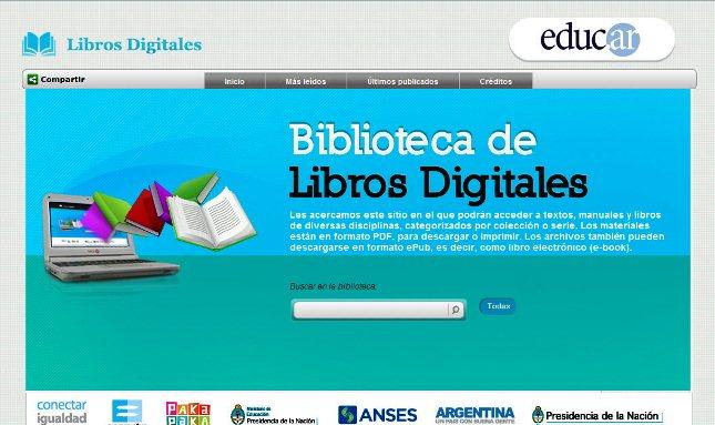 Biblioteca de Libros Digitales Logo