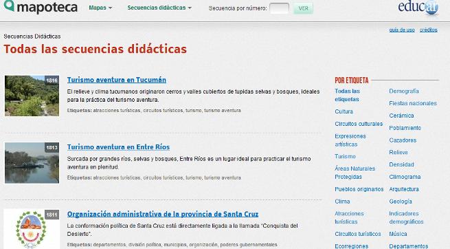 Mapoteca Secuencia Didáctica
