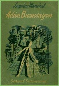 Tapa de la primera edición del libro Adán Buenosayres.