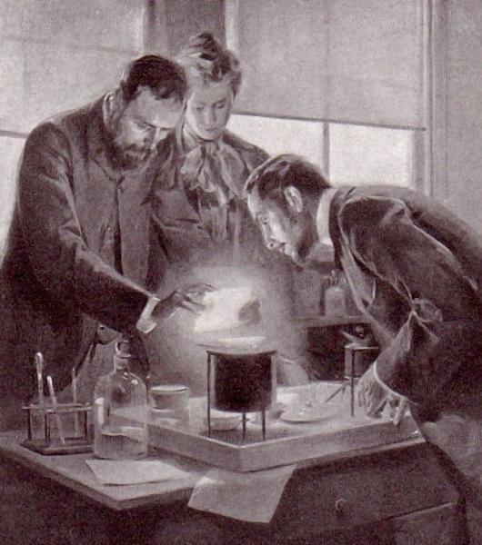 Experimentando con radio (ilustración)
