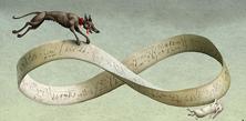 La cinta de Moebius según el ilustrador polaco Adam Pekalski