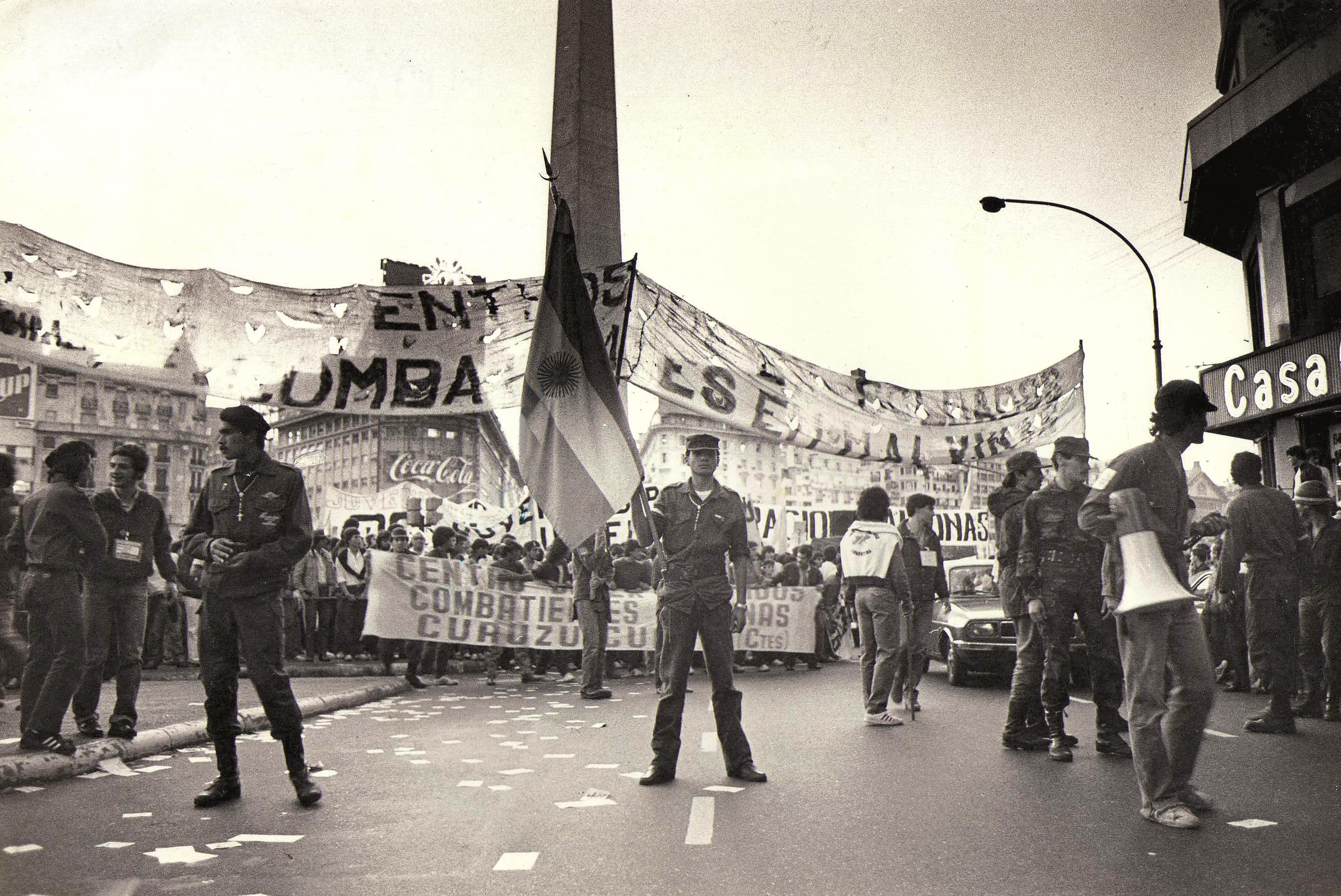 Movilización. Abril 1984
