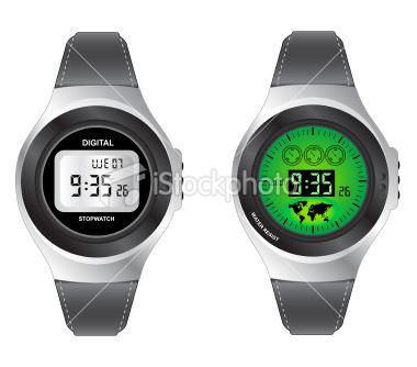 Imagen de reloj digital que indica las 9:35 horas.