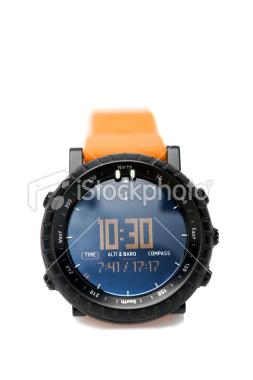 Imagen de reloj digital que indica las 10:30 horas.