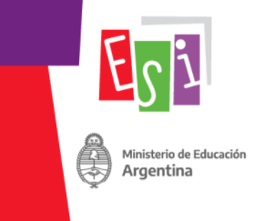 la imagen muestra el logo del ESI y del Ministerio de Educación.
