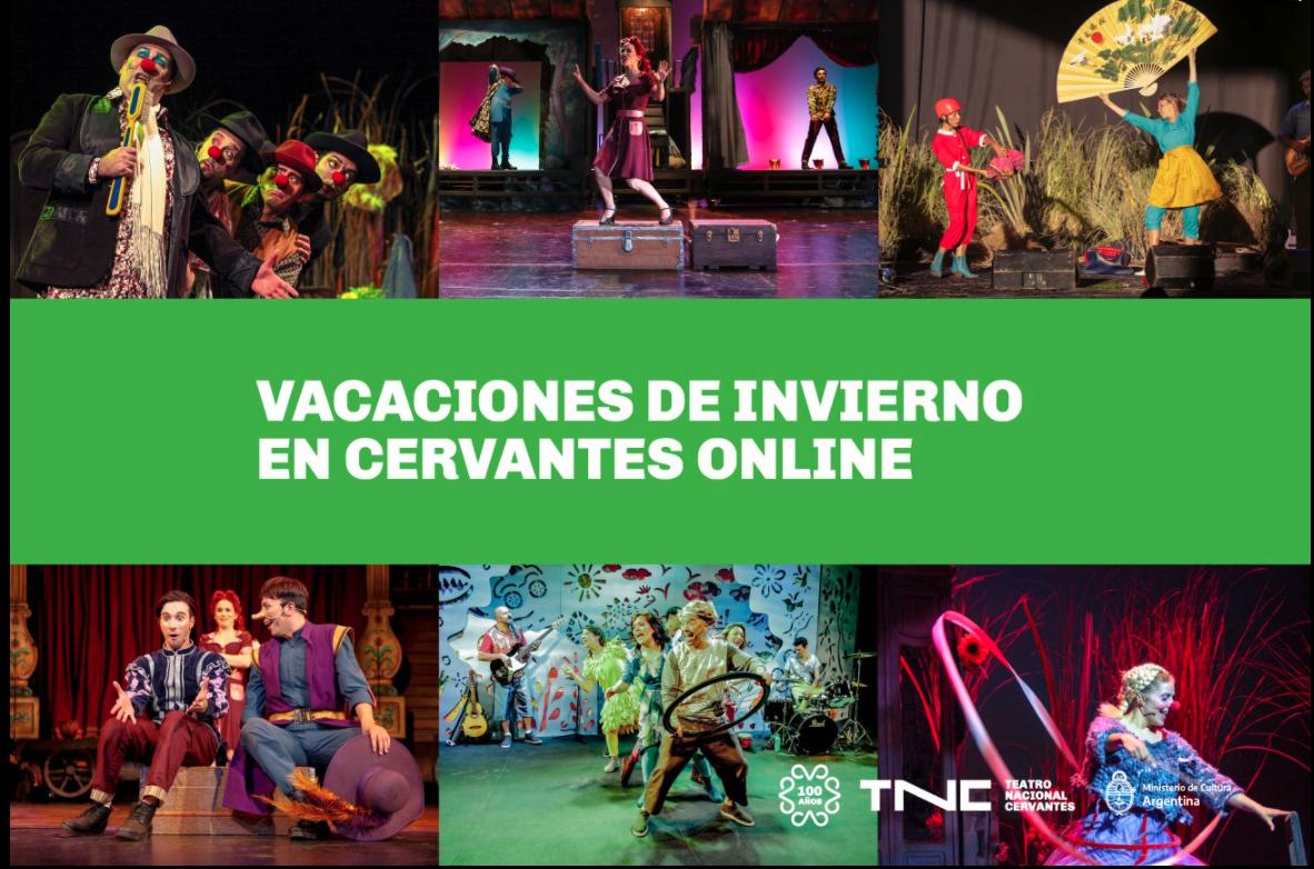flyer Teatro Nacional Cervantes